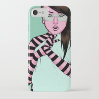 striped iPhone & iPod Cases featuring Striped by Jim Towe