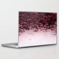 crystals Laptop & iPad Skins featuring Burgundy CrYSTALS by 2sweet4words Designs
