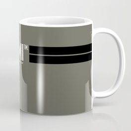 URGENTARMI (V02)... there's less reason to fear and more reason to fight. Coffee Mug