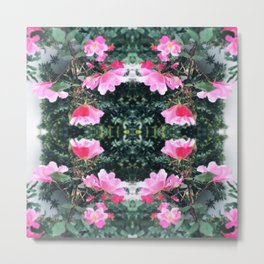 Candy Coated Roses Metal Print
