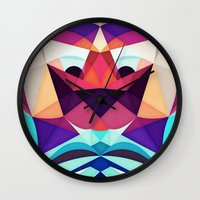 glee Wall Clocks featuring Well, This Is Weird by Anai Greog
