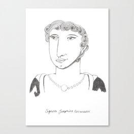 Signora Josephine Canvas Print