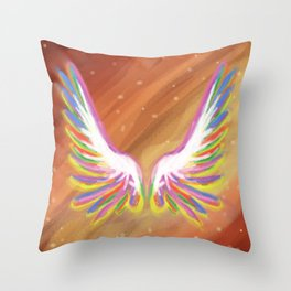 Avian Magic Throw Pillow