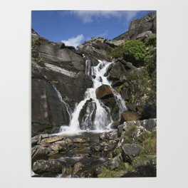 Tanygrisiau Waterfall Poster