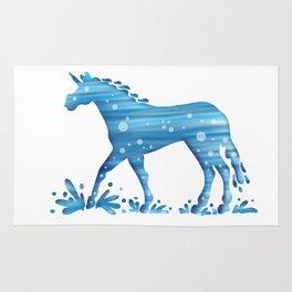 Water Unicorn Rug