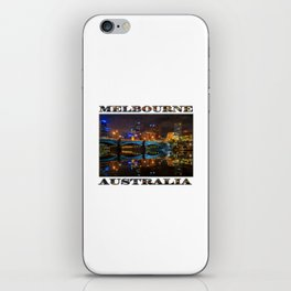 Reflective City iPhone Skin