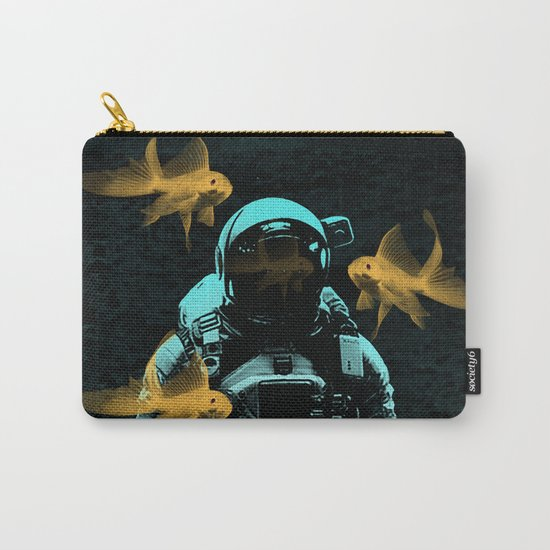 astronauts and goldfish Carry-All Pouch