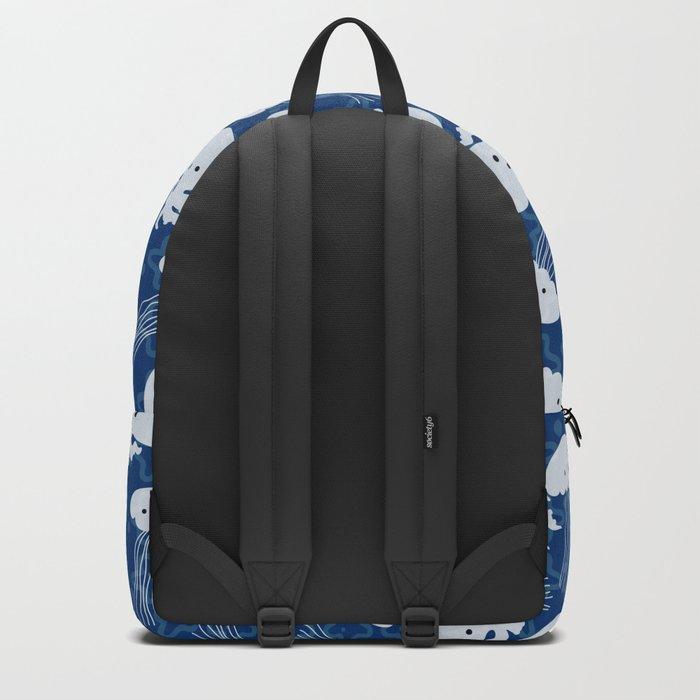 Sea pattern Backpack