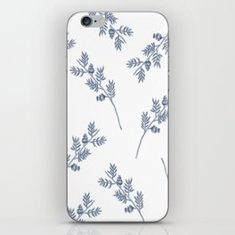 Branches in Blue iPhone Skin
