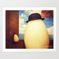 Portrait Of An eGG II Art Print