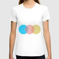 circles T-shirts featuring Circles by Cs025
