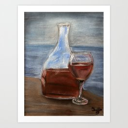 Elegance with ambiance Art Print