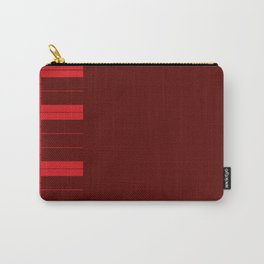 Red Piano Keys Carry-All Pouch
