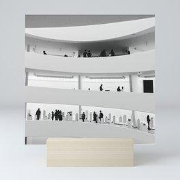 Sunday at the Guggenheim Mini Art Print