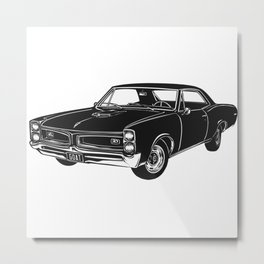 GTO Muscle Car Metal Print
