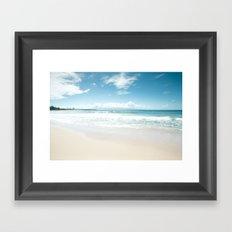Kapalua Blue Framed Art Print