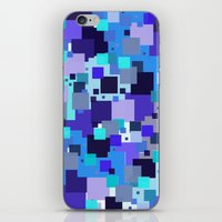 square iPhone & iPod Skins featuring square by sladja