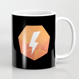 1K Trailblazes Badge on Black Coffee Mug
