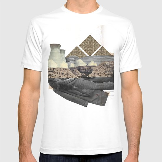 The future a time to reminisce. (mixed media) T-shirt