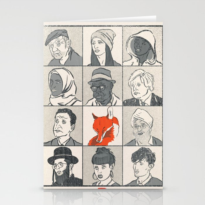 Londoners Stationery Cards