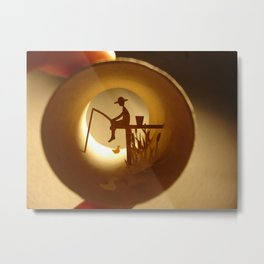 "Roll ""Fishing"" (Rouleau ""Pêche"") Metal Print"