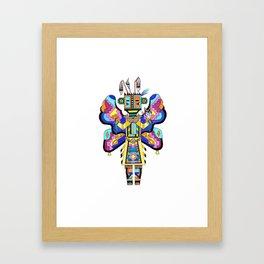 Kachina Butterfly 4 Framed Art Print