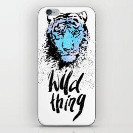 Tiger. Wild thing. iPhone Skin