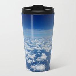 Floating on Clouds Travel Mug