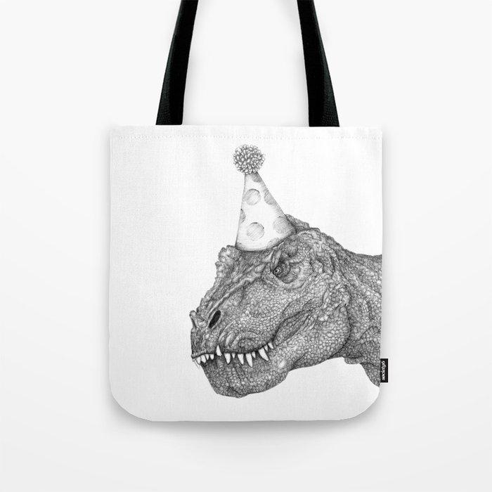 Party Dinosaur Tote Bag