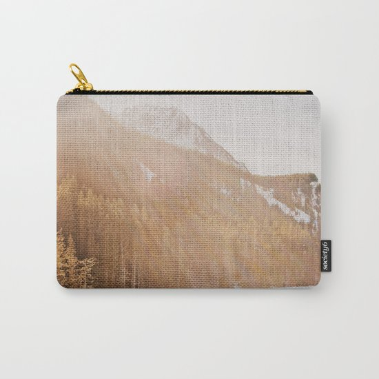 Sun Shining through the Mountains Carry-All Pouch