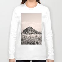 monkey island Long Sleeve T-shirts featuring Monkey Island, Southland, New Zealand by the penny drops