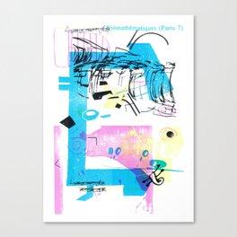 Biomathématiques (Paris 7) Canvas Print