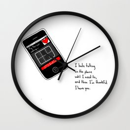 Calling my Person Wall Clock