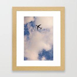 En dirección a... Framed Art Print