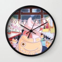 One night at the shibamatsuri Wall Clock