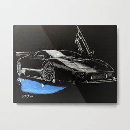 Car #3 Metal Print