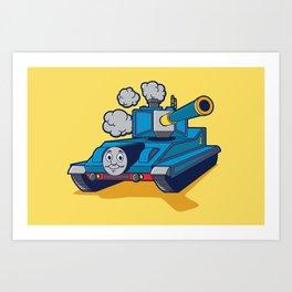 Thomas The Tank Art Print