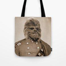 Portrait of Sir Chewie Tote Bag