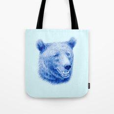 Brown bear is blue Tote Bag