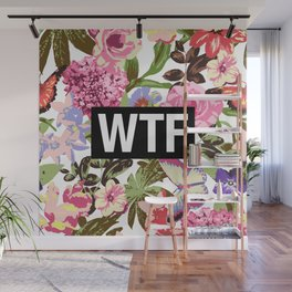WTF Wall Mural