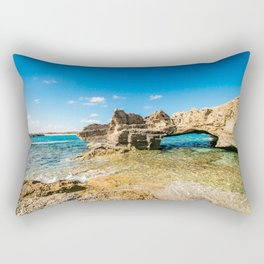 Grotto seascape Rectangular Pillow
