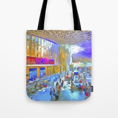 Kings Cross Station London Art Tote Bag