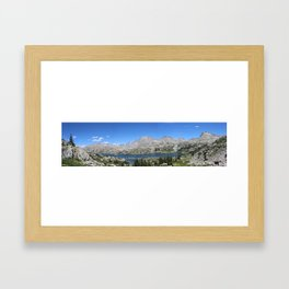 Island Lake, Wind River Range Framed Art Print