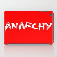sons of anarchy iPad Cases featuring ANARCHY by lucborell