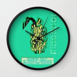 Madeira Flavor Wall Clock