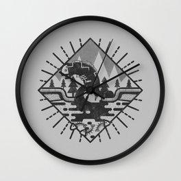 Monster Oil Wall Clock