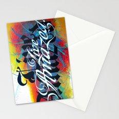 Live Amazed! Stationery Cards