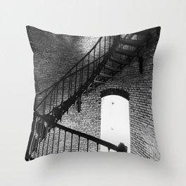 Spiralling Up Throw Pillow