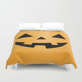 Happy Jack-O-Lantern Duvet Cover