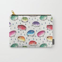 Round Rain Frogs Carry-All Pouch